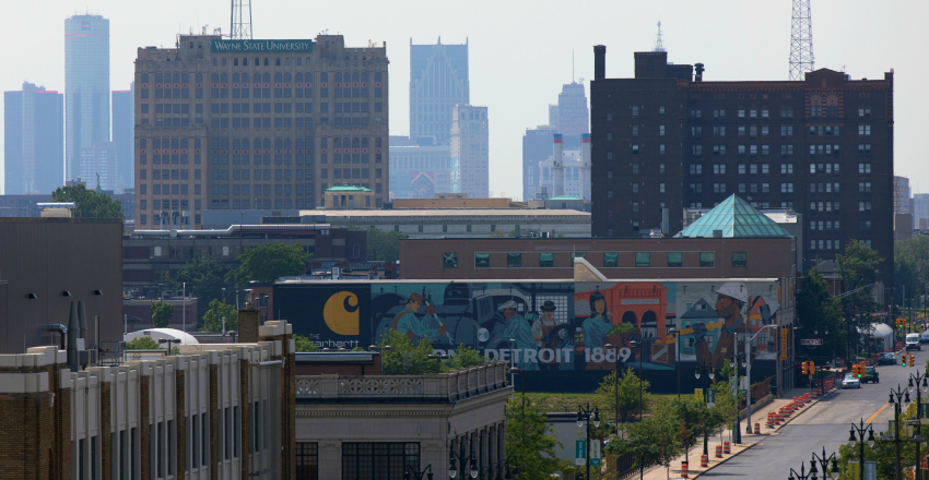 Detroit takes national spotlight in 2017