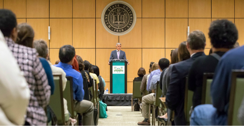 President Wilson's 2017 University Address remarks